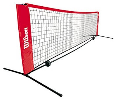 Red Mini Tennis Court Net