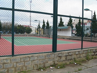 Tennis Court Fencing Dimensions