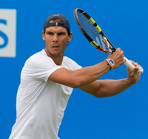Rafael Nadal Big Four Tennis Player