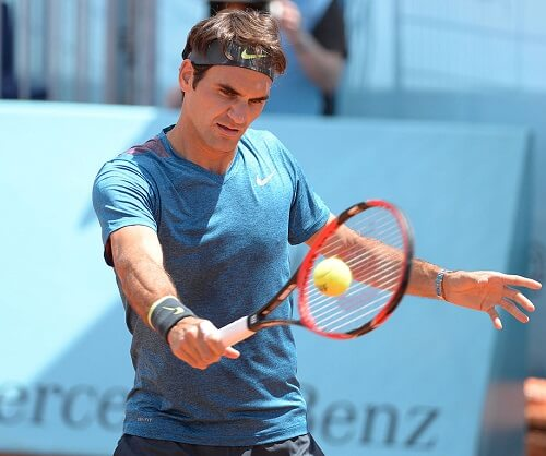Roger Federer Big Four Tennis Player