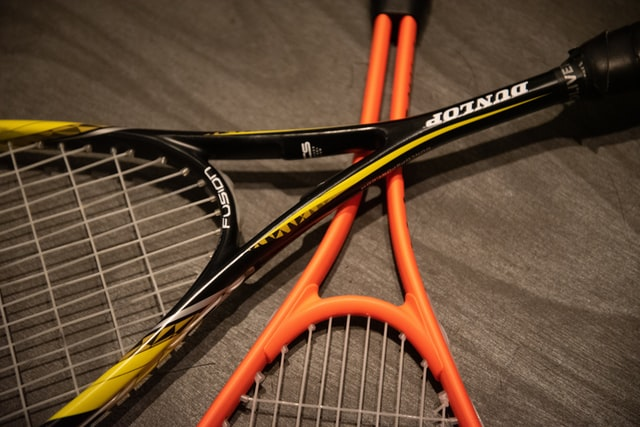 Junior and adult tennis rackets
